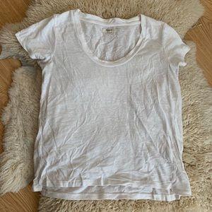 Madewell Linen Blend T-Shirt